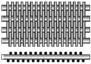 Reverse Dutch Weave Woven Wire Mesh