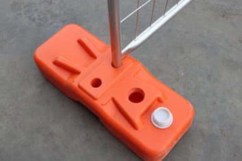 Temporary Fence Blow Mould Feet