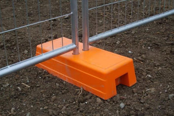 Temporary Fence Injection Mould Feet