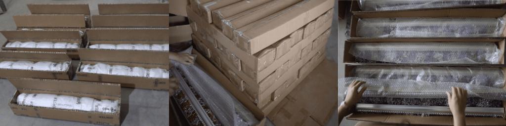Alumiunm Chain Link Curtain Packing