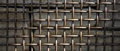 Rusty Heavy Woven Wire Mesh