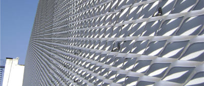 Expanded Metal Mesh for Building Facades