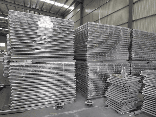 Our Inventory of Chain Link Temporary Fences