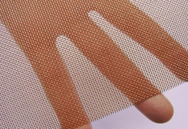 Plain Weave Copper Wire Mesh