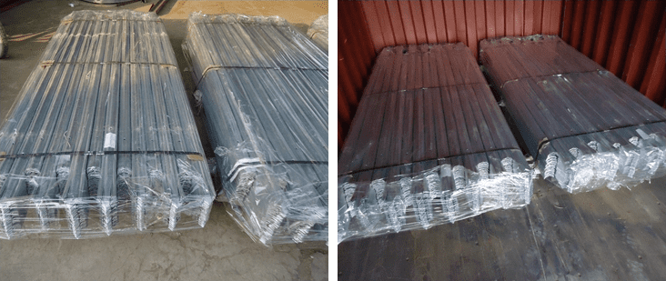 Palisade Fence Packaging