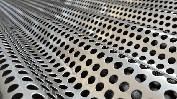 Perforated Corrugated Metal Sheet