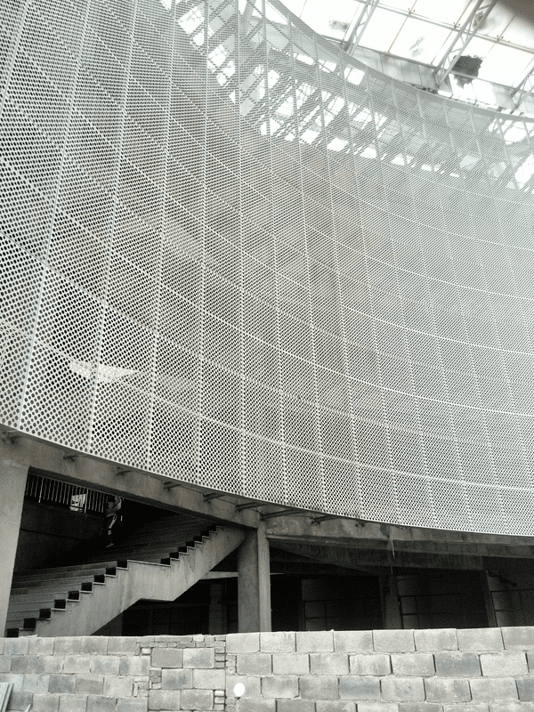 Perforated Metal for Building Cladding