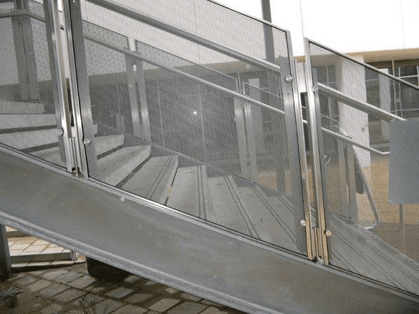Perforated Metal for Fence Infill Panels