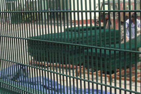 Vertical 358 Mesh Fence