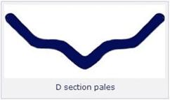D Section Pales