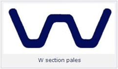 W Section Pales