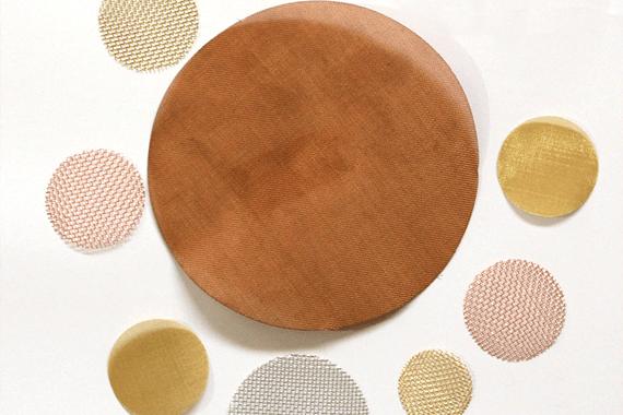 Copper Wire Mesh Sheets
