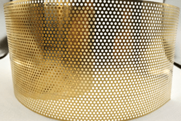 Perforated Brass Sheet