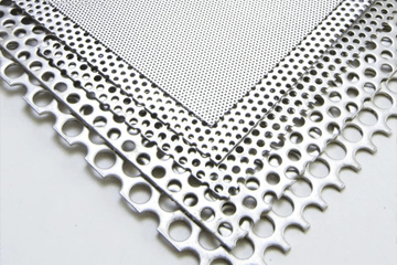 Perforated Galvanized Steel Sheet