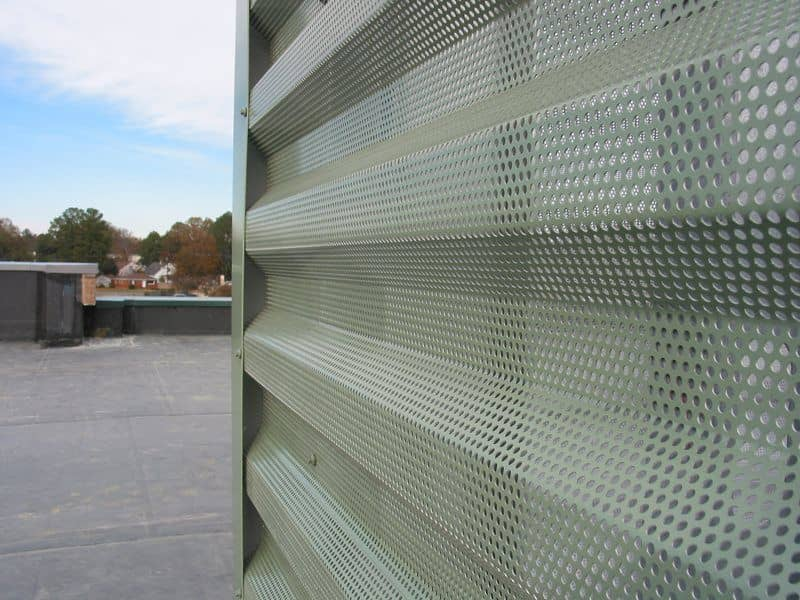 Perforated Metal Acoustic Panels