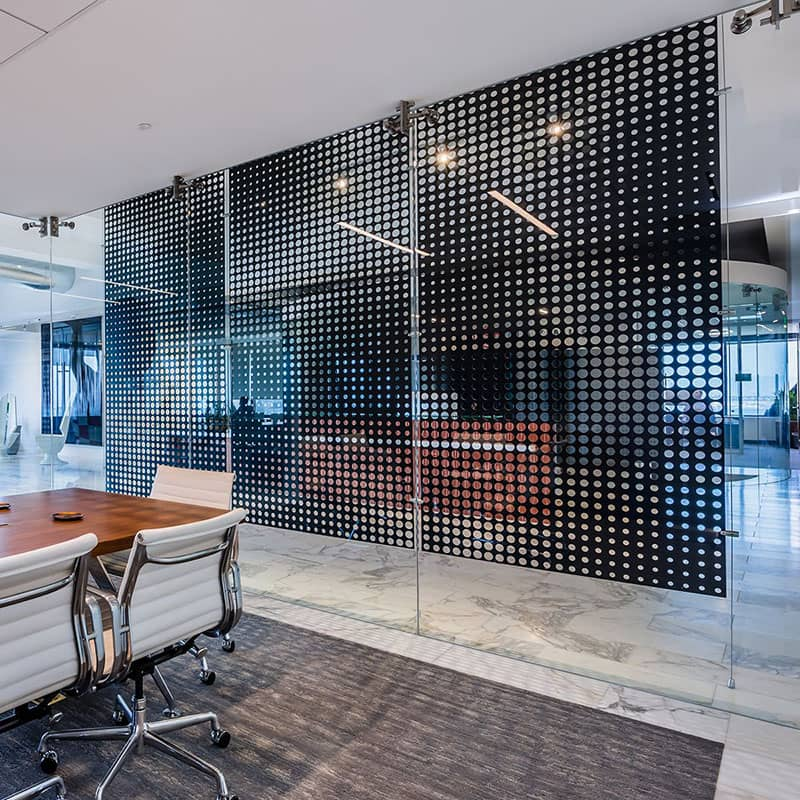 Perforated Metal Privacy Screen