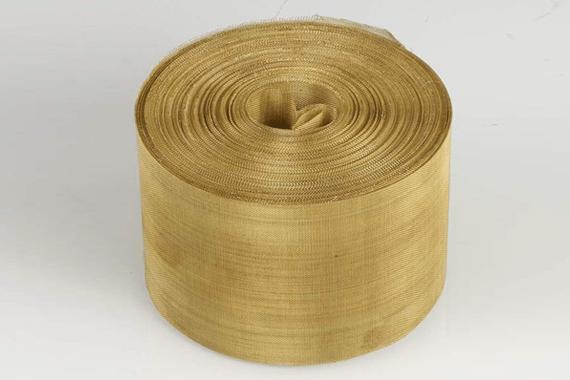 Small Brass Wire Mesh Roll