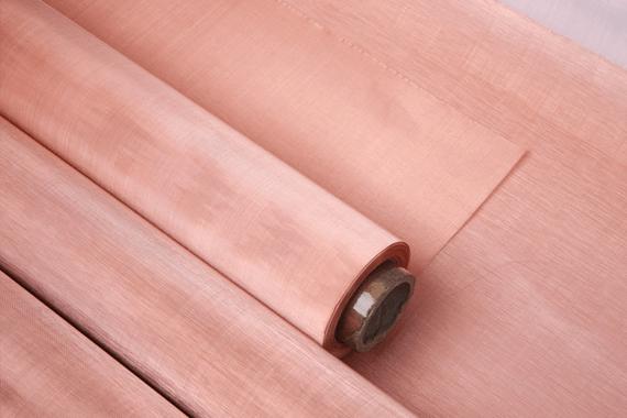 Ultra Fine Copper Mesh Fabric