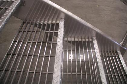 Bar Grating Stair Treads
