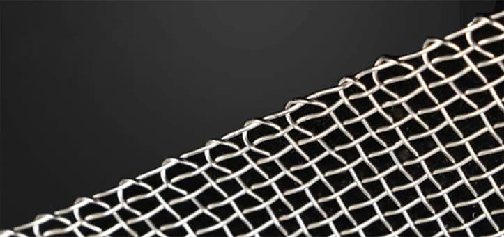 Woven Wire Mesh Selvage Edge