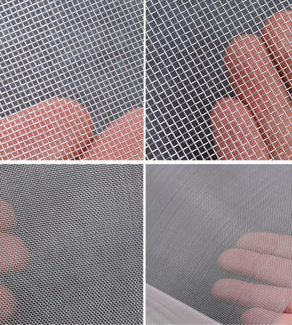 Stainless Steel Woven Wire Mesh Detail