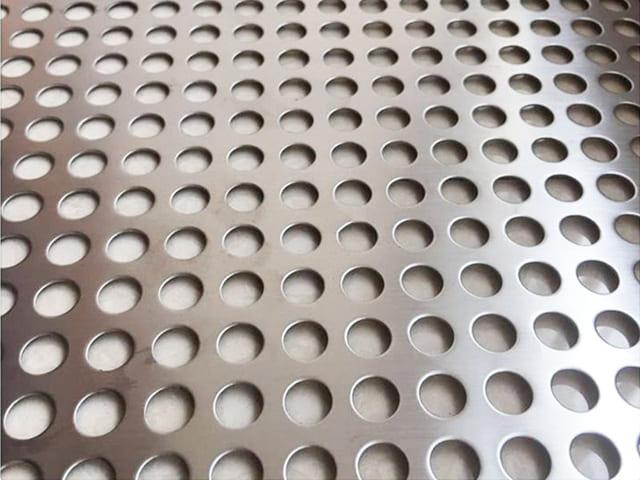 Galvanized Steel Perforated Metal
