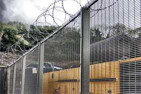 Permanent Security Fence