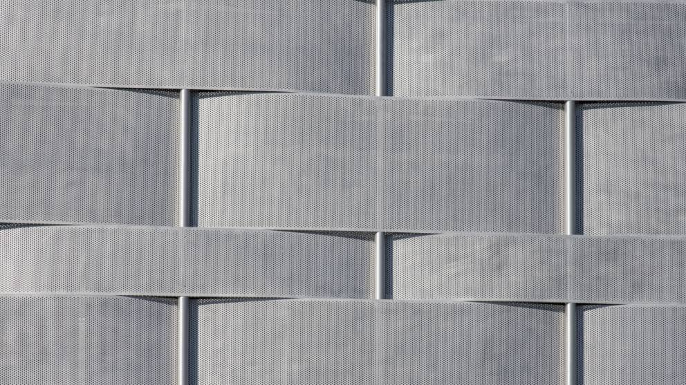 Round Hole Perforated Metal Building Cladding