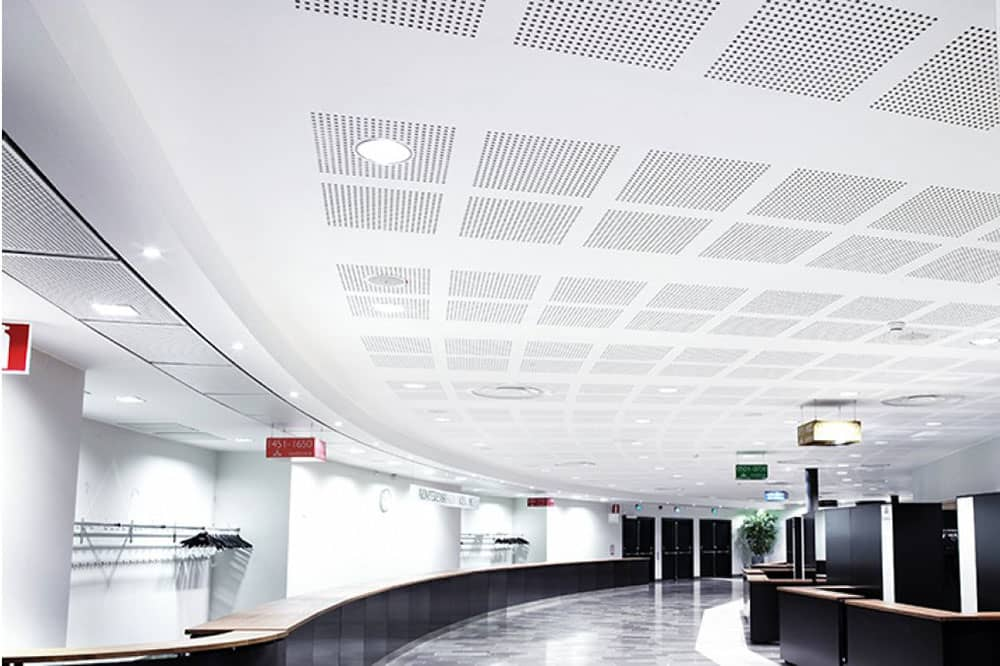 Round Hole Perforated Metal Ceiling