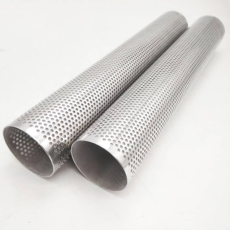 Round Hole Perforated Metal Filter