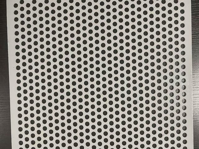 Titanium Perforated Metal