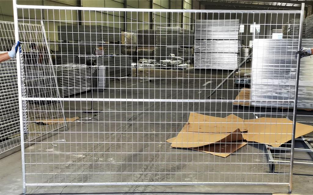 Galvanized Temporary Fence Panel
